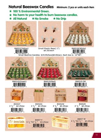 Picture for category Natural Beeswax Candles