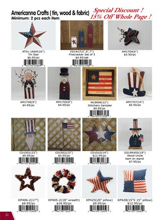 Picture for category Americana: Flags & Crafts
