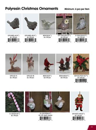 Picture for category Christmas Polyresin Items