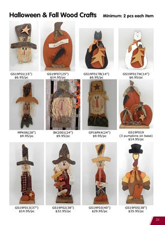 Picture for category Fall & Halloween Wood Crafts