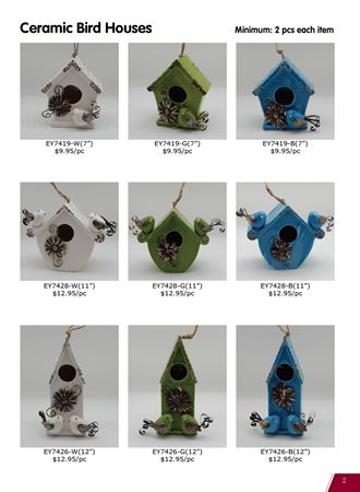 Picture for category Garden Birds, Birdhouses & Birdbaths